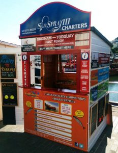 Funfish Trips Kiosk | Brixham Harbour