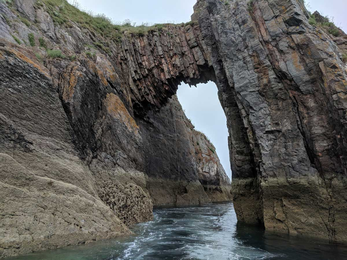 Natural Arch, Off Torquay