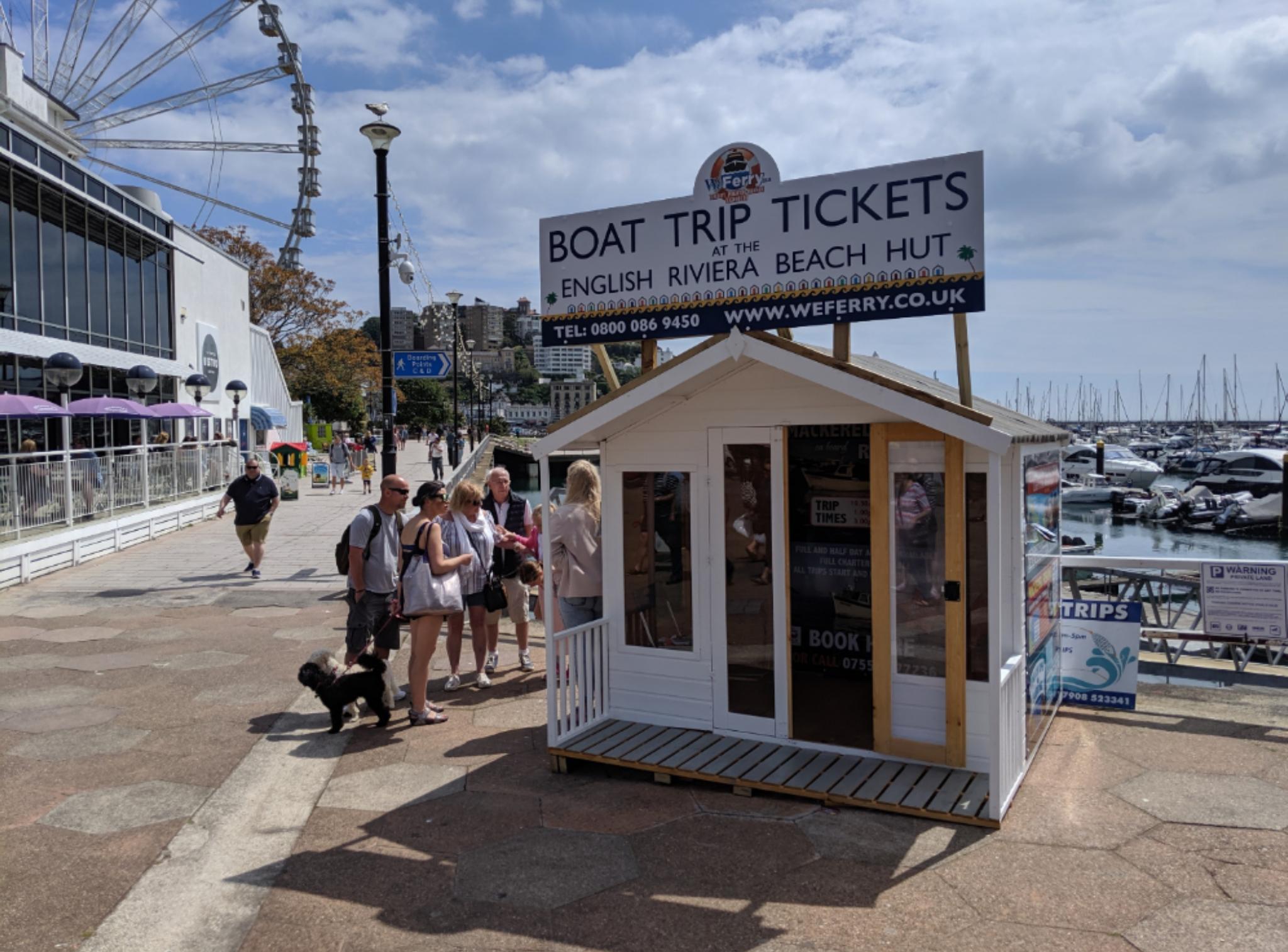 Funfish Trips - Torquay Kiosk